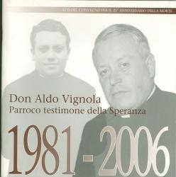 Don Aldo Vignola, parroco testimone della speranza