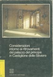Considerazioni intorno ai ritrovamenti del palazzo del principe in Castiglione delle Stiviere