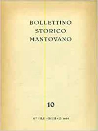 Bollettino storico mantovano