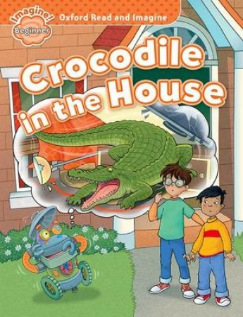 Crocodile in the house