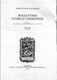 Bollettino storico cremonese